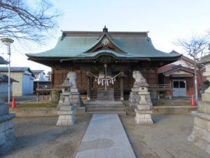 大桑神社拝殿