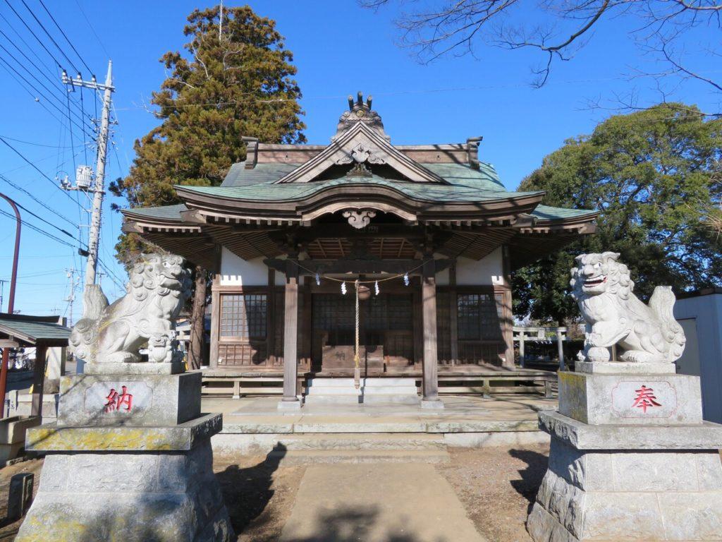 桑山神社拝殿