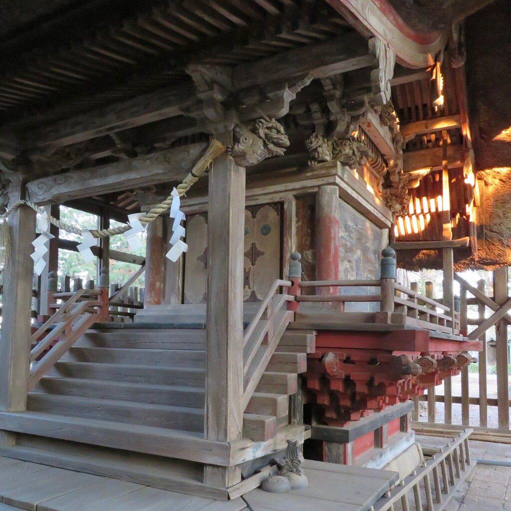 吉沼八幡神社本殿
