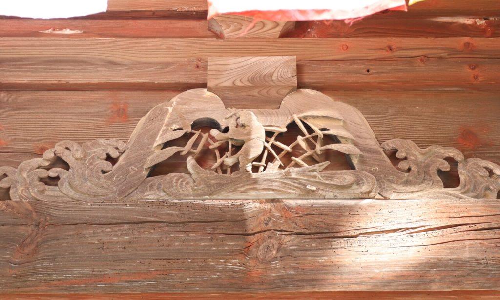 仁王門北面東側蟇股