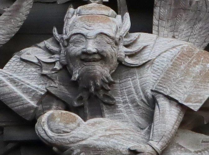 応神天皇を抱く武内宿禰