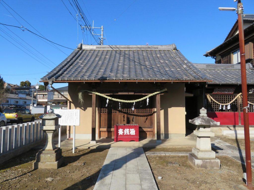 田中稲荷神社拝殿