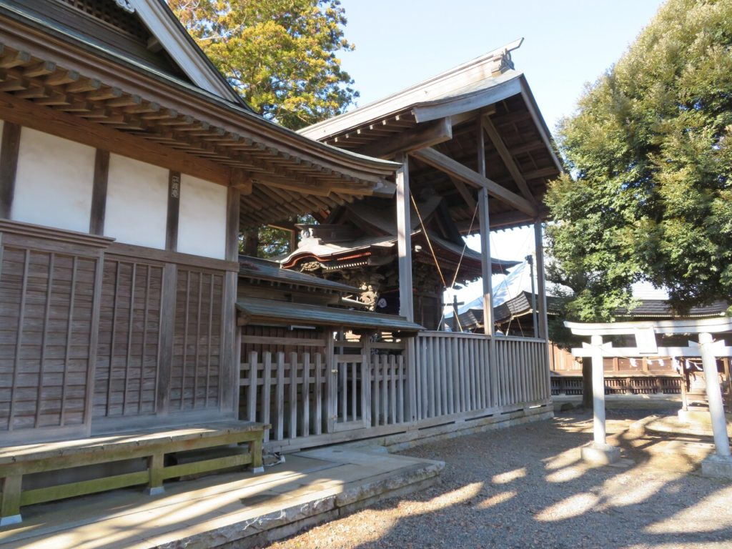 桑山神社本殿