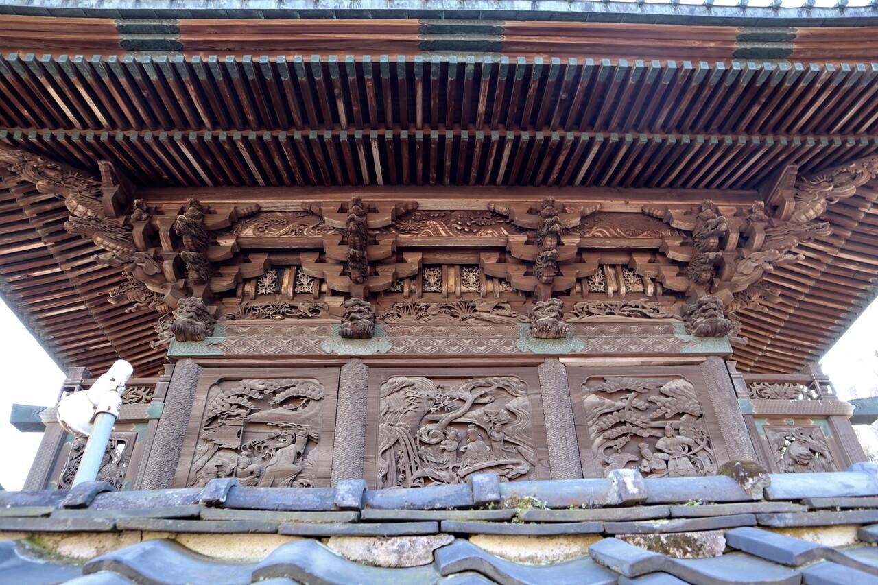 愛宕神社背面