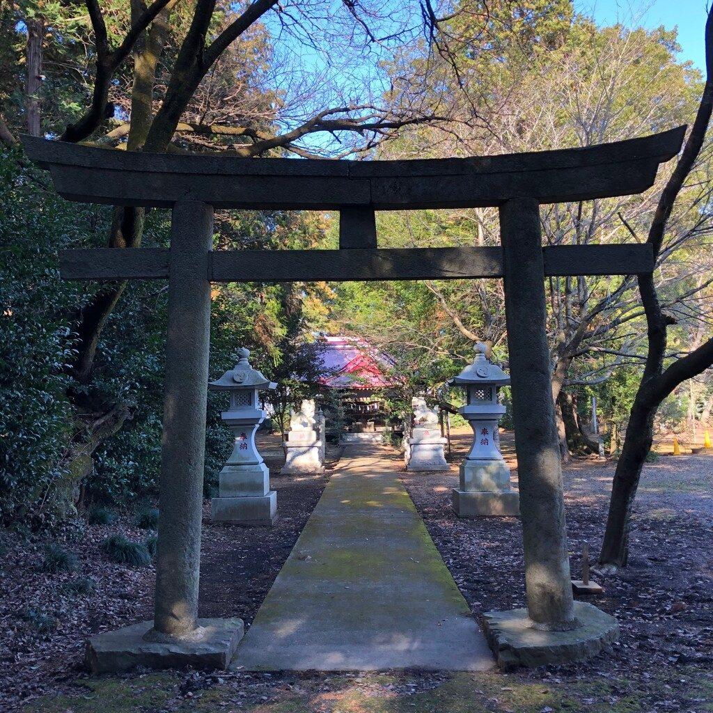 八幡神社二ノ鳥居