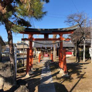 田中稲荷神社鳥居