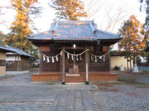 吉沼八幡神社拝殿