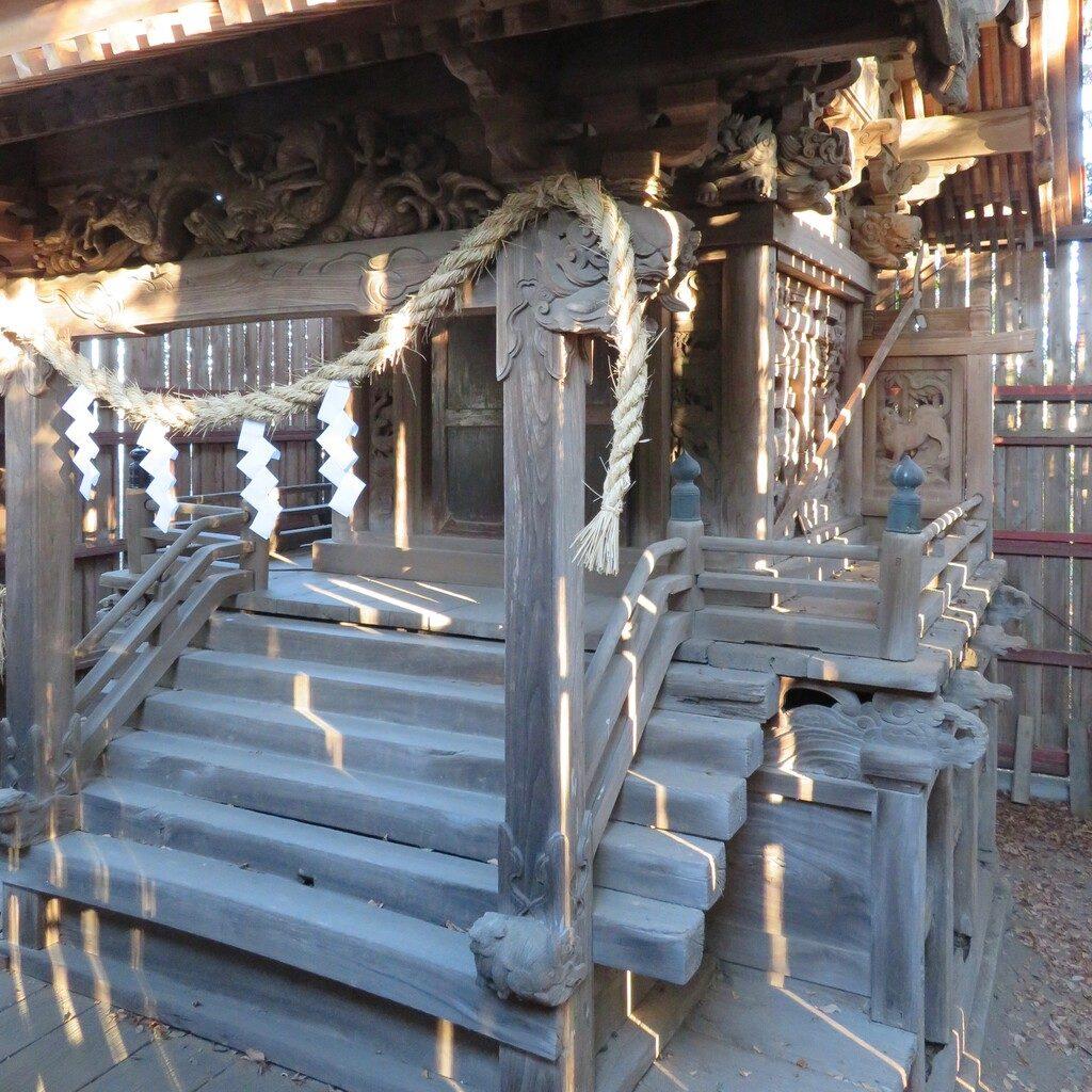 山尻鹿島神社本殿