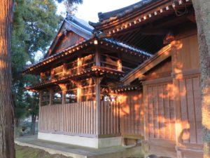 厳島神社本殿覆屋