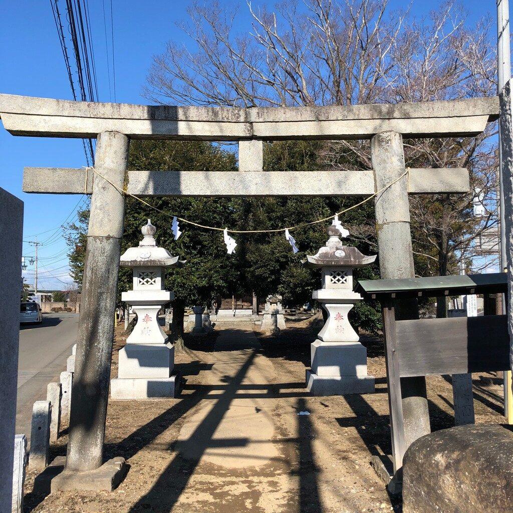 桑山神社鳥居