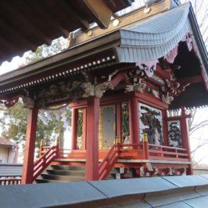 鹿窪香取神社本殿