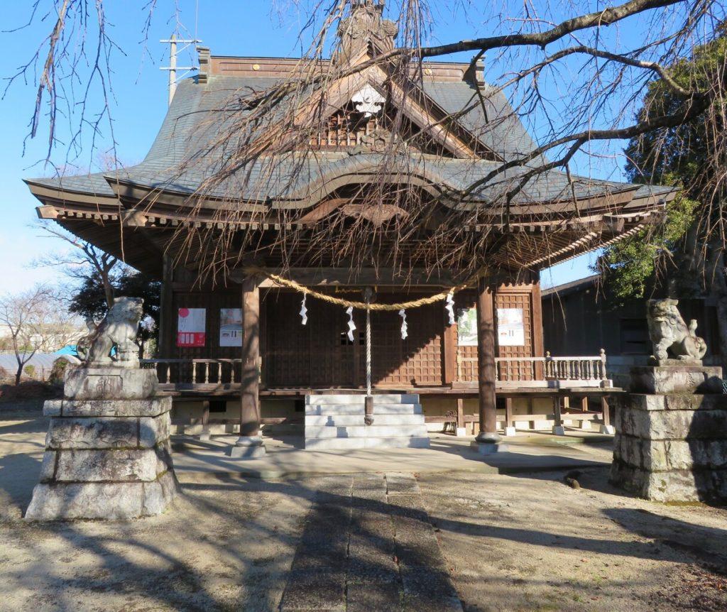 二所神社拝殿