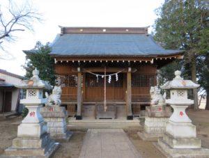 鹿窪香取神社拝殿