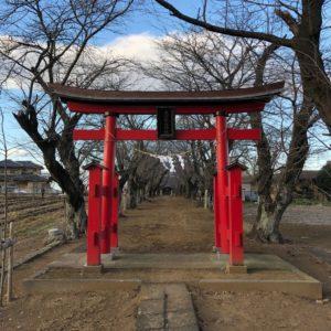 鹿窪香取神社鳥居