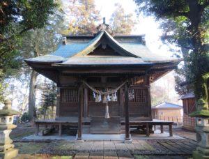 樋口雷神社拝殿