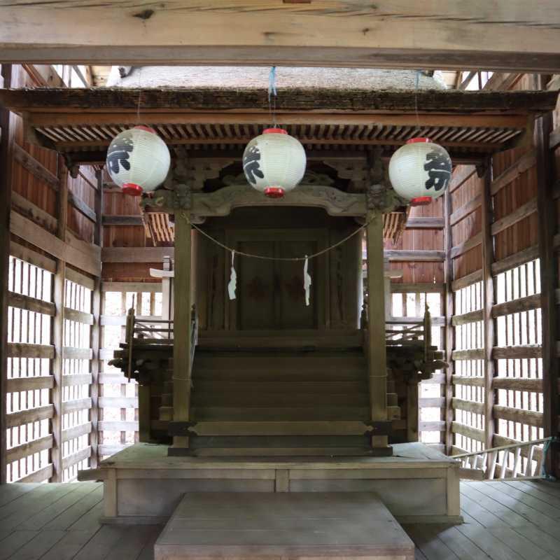 宮上諏訪神社御本殿