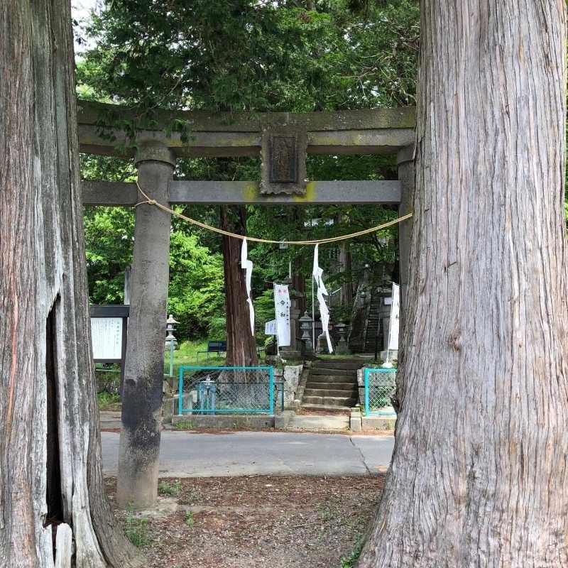 平賀神社鳥居