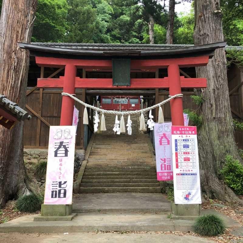小幡八幡神社鳥居