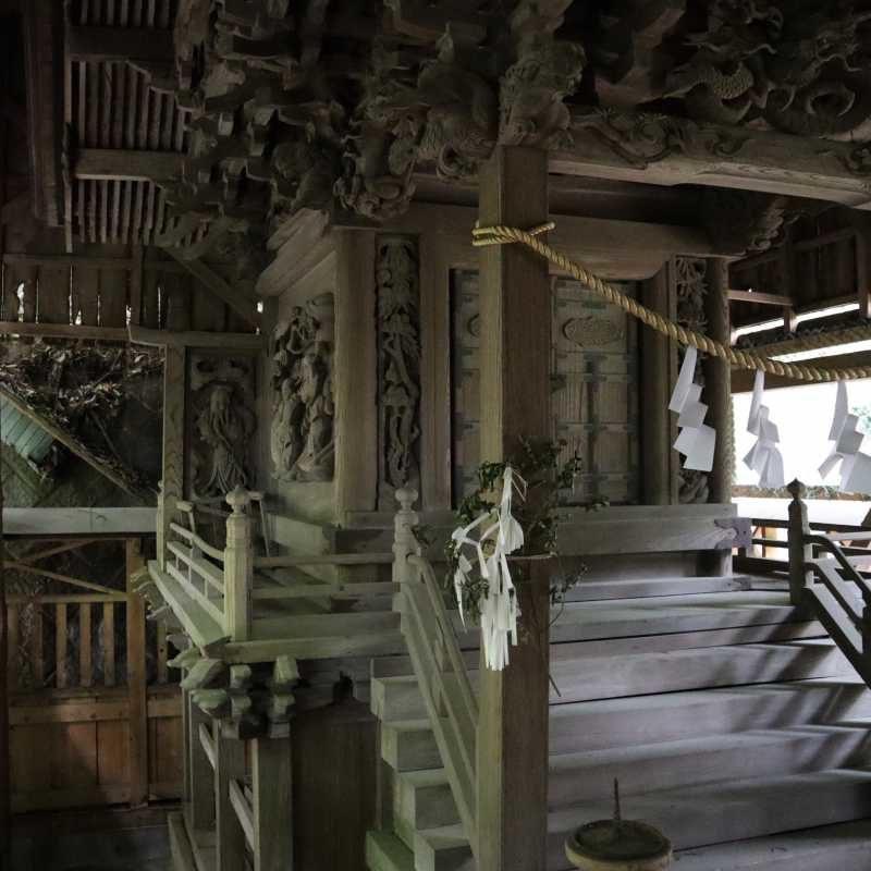 小幡八幡神社御本殿