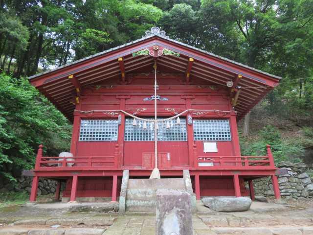 小幡八幡神社拝殿