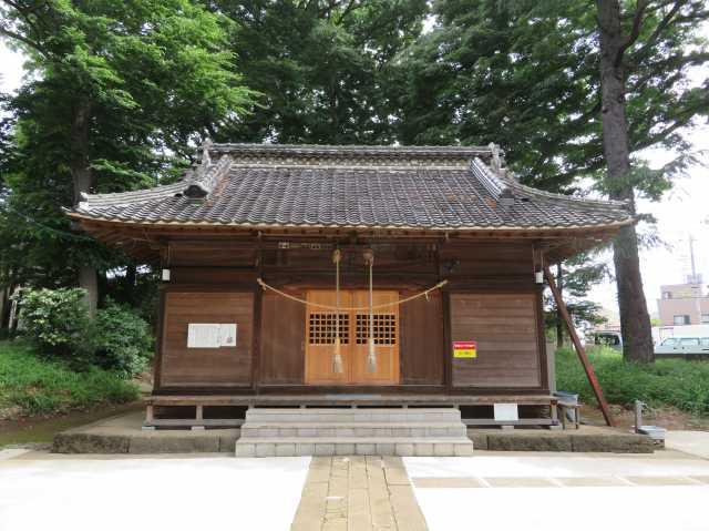 赤井氷川神社拝殿