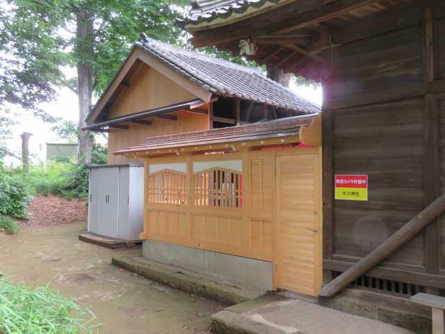 赤井氷川神社覆屋