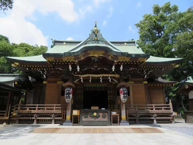 花畑大鷲神社拝殿