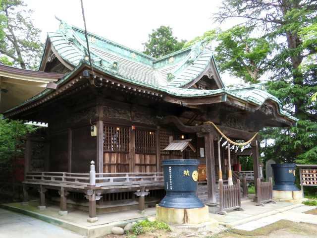 大曽根八幡神社拝殿
