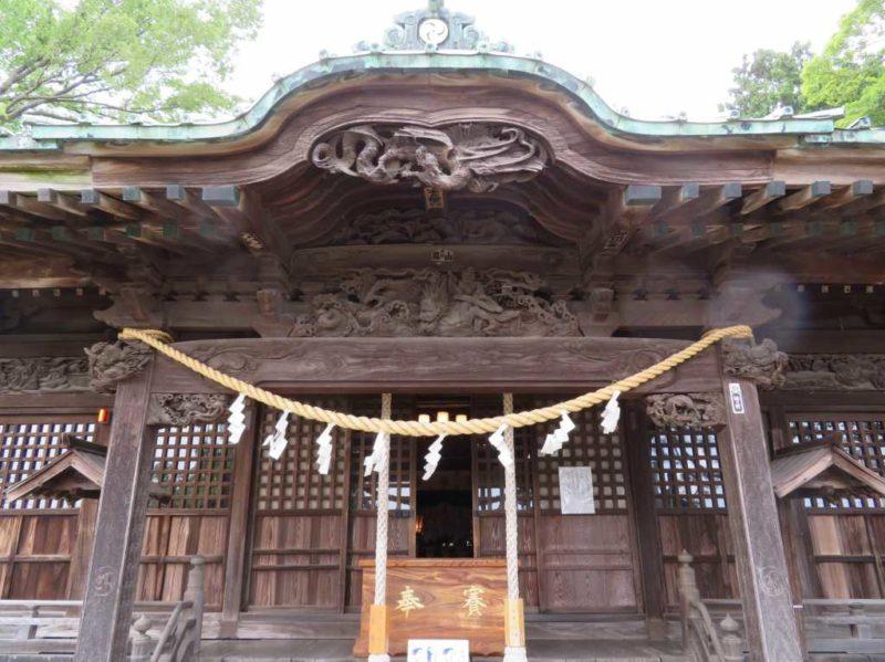 大曽根八幡神社向拝