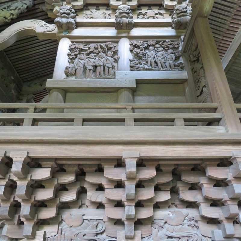 八條八幡神社右面