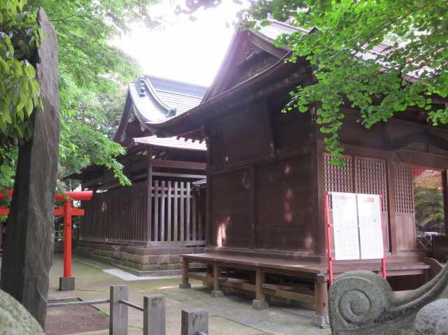 八條八幡神社社殿
