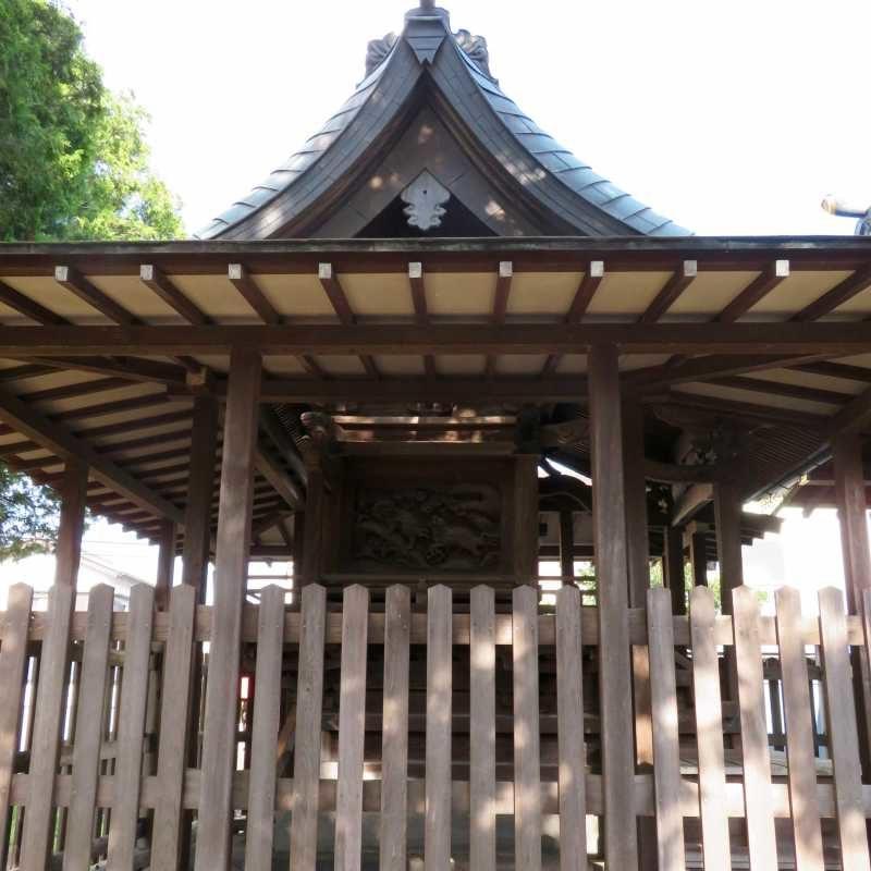 三輪神社御本殿左面