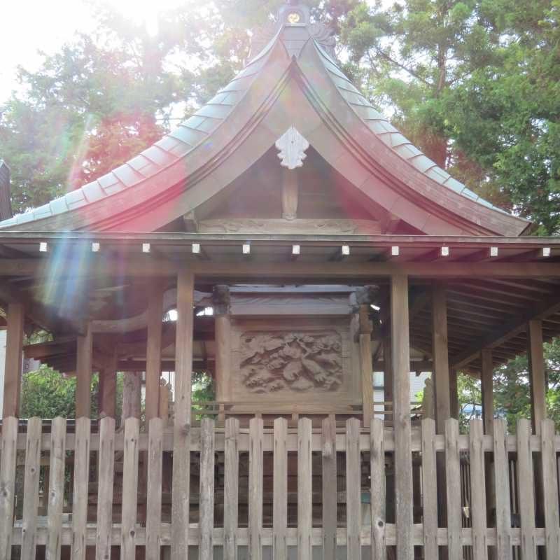 三輪神社御本殿右面