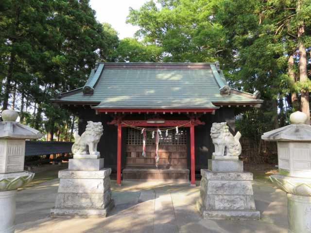 香取宮拝殿