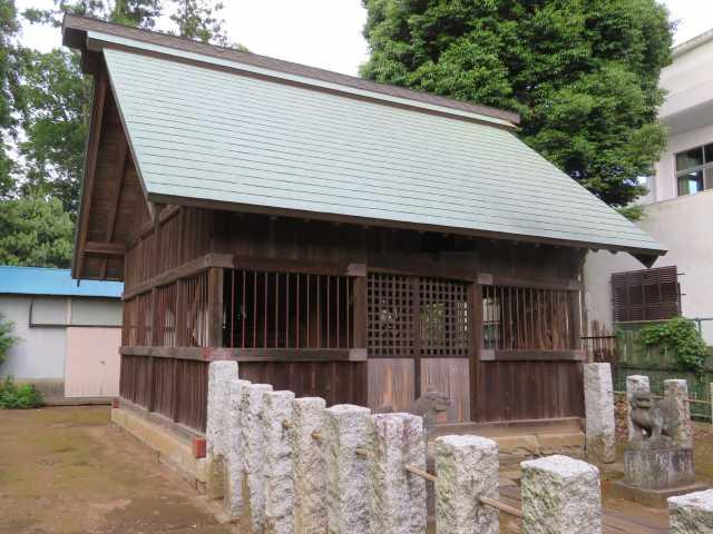 三ツ堀香取神社覆屋