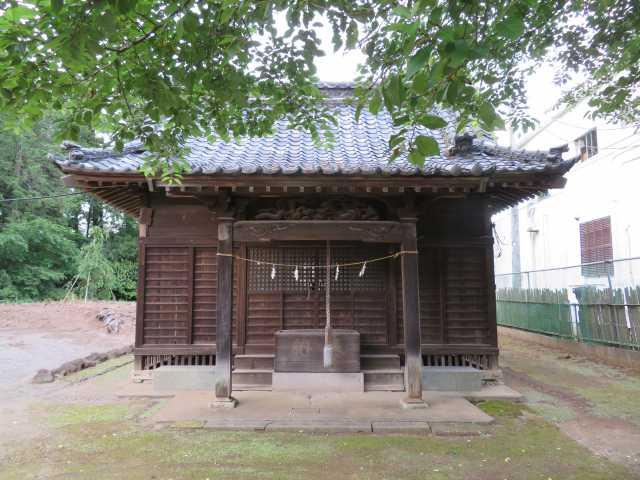 三ツ堀香取神社拝殿