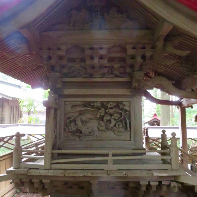 五條谷稲荷神社左面