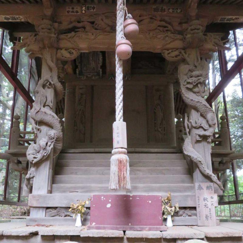 香取神社向拝
