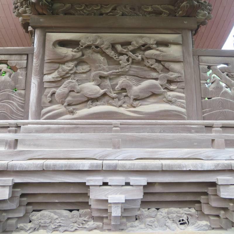 将門神社背面