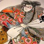 刺青図柄の意味 将軍太郎良門(しょうぐんたろうよしかど)