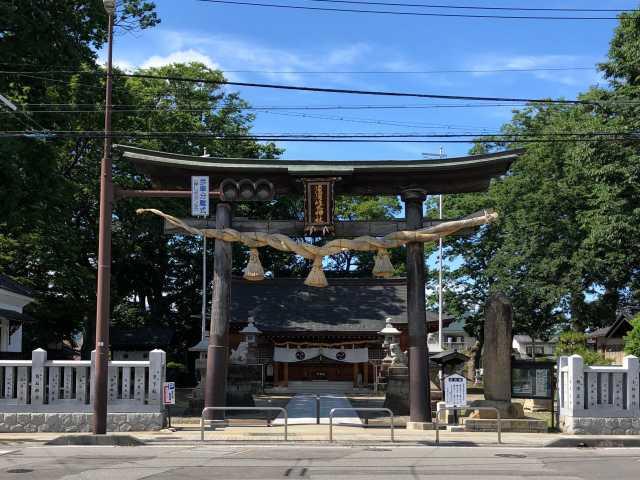 須須岐水神社鳥居
