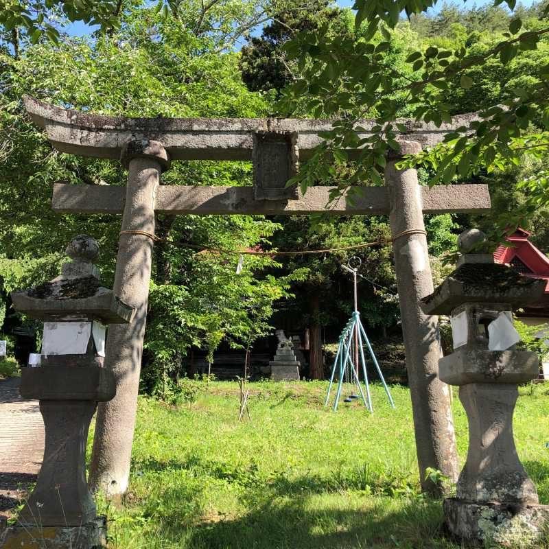 戸澤神社鳥居