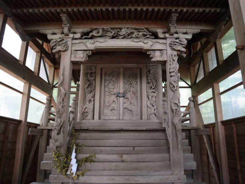 折立熊野神社御本殿