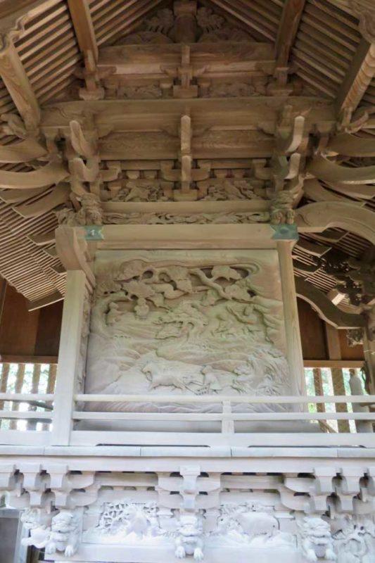 香取神社御本殿左面