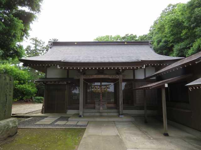 戸神宗像神社拝殿