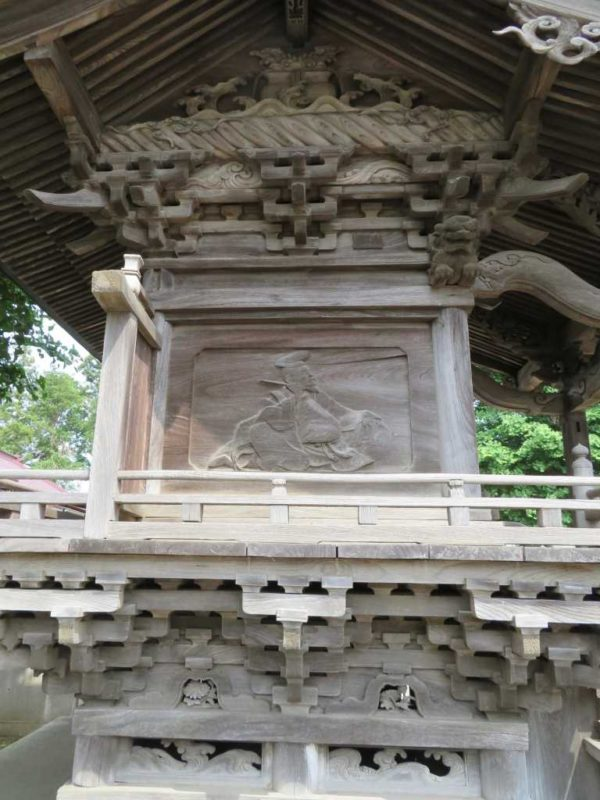船尾白山神社左面