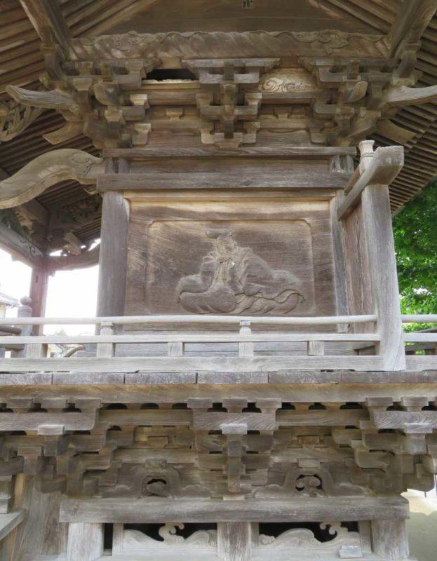 船尾白山神社右面
