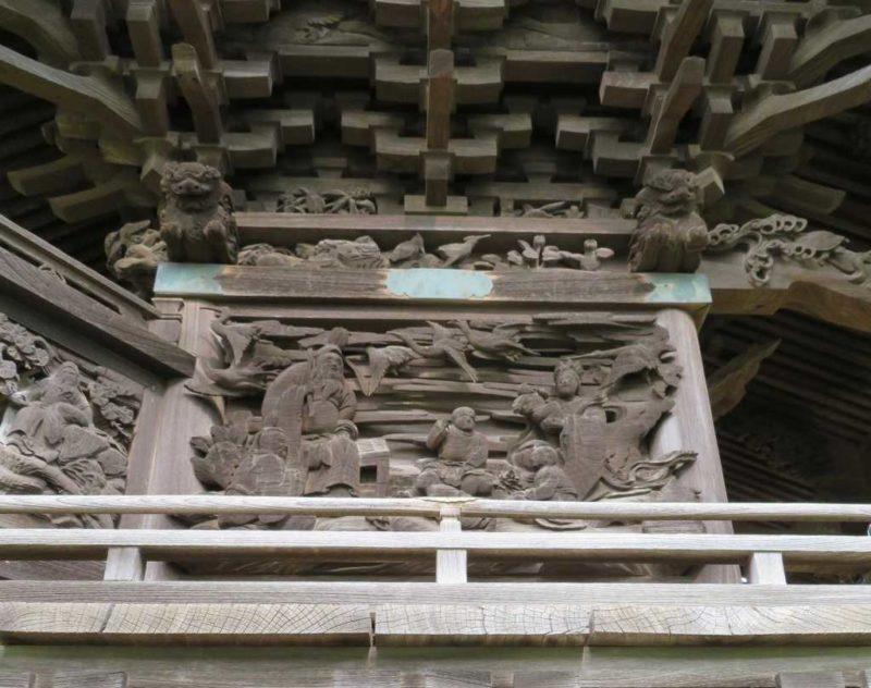 米本稲荷神社御本殿左面