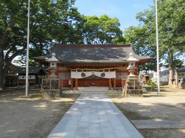 須須岐水神社拝殿