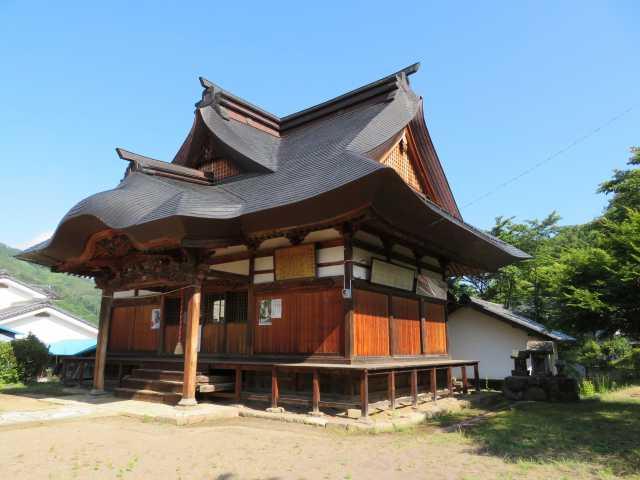 横尾神社社殿